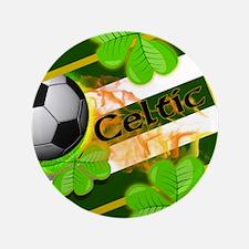 "CELTIC FOOTBALL 3.5"" Button"