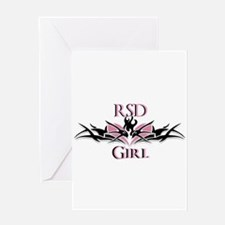 RSDgirl New Logo Greeting Card