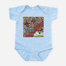 Psychedelic Mushrooms Infant Bodysuit
