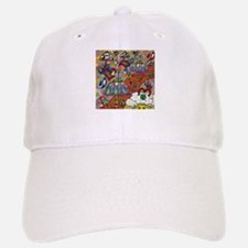Psychedelic Mushrooms Baseball Baseball Cap