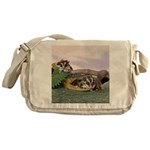 Crocodile #2 Messenger Bag