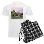 Crocodile #2 Men's Light Pajamas