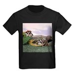 Crocodile #2 Kids Dark T-Shirt