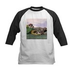 Crocodile #2 Kids Baseball Jersey