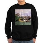 Crocodile #2 Sweatshirt (dark)