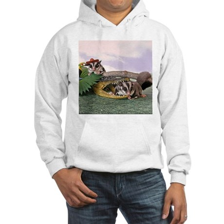 Crocodile #2 Hooded Sweatshirt