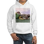 Crocodile #2 Hooded Sweatshirt