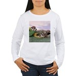 Crocodile #2 Women's Long Sleeve T-Shirt