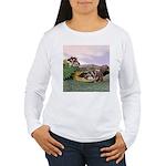 Crocodile #2 Women's Long Sleeve T-Shirt