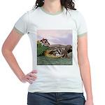 Crocodile #2 Jr. Ringer T-Shirt
