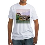 Crocodile #2 Fitted T-Shirt