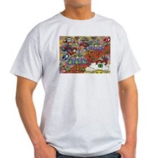 Psychedelic Mushrooms T-Shirt