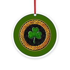 CELTIC SHAMROCK Ornament (Round)
