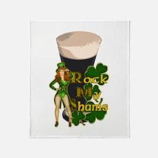 Rock My Shams Irish Stout Throw Blanket