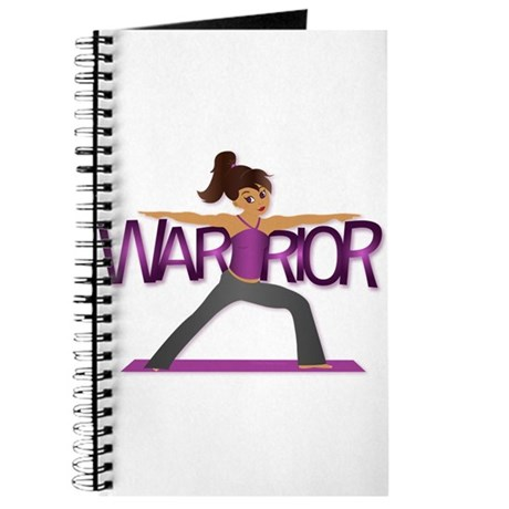 Warrior Yoga Girl Journal