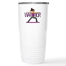 Warrior Yoga Girl Travel Mug