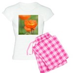Orange Poppy Flower Women's Light Pajamas