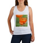 Orange Poppy Flower Women's Tank Top