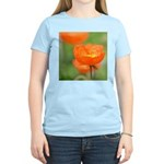 Orange Poppy Flower Women's Light T-Shirt