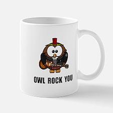 Owl Rock You Mug