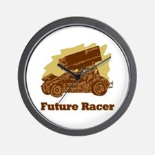 Future Auto Racer Wall Clock
