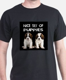 Nice Set of Puppies Men's T-Shirt