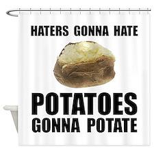 Potatoes Potate Shower Curtain