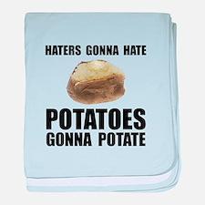 Potatoes Potate baby blanket