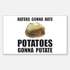 Potatoes Potate Decal