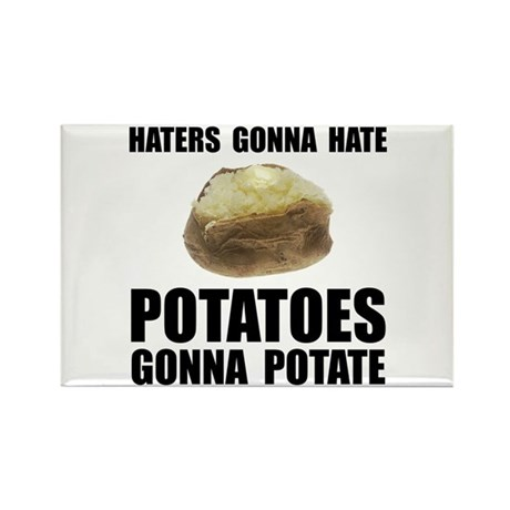 Potatoes Potate Rectangle Magnet (100 pack)