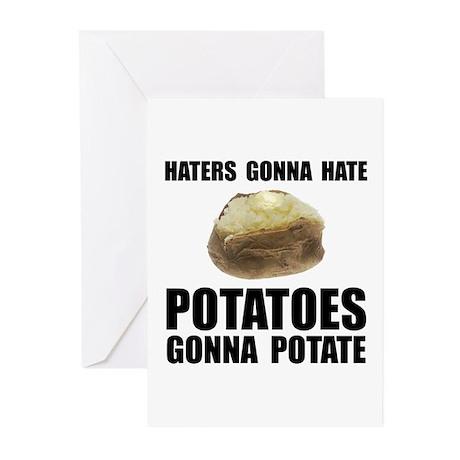 Potatoes Potate Greeting Cards (Pk of 10)