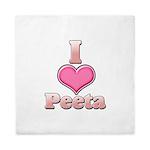 I Heart Peeta 1 Queen Duvet