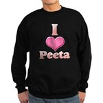 I Heart Peeta 1 Sweatshirt (dark)