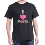 I Heart Peeta 1 Dark T-Shirt