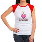 I Heart Peeta 1 Women's Cap Sleeve T-Shirt