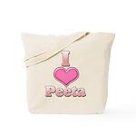 I Heart Peeta 1 Tote Bag