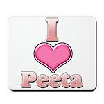I Heart Peeta 1 Mousepad