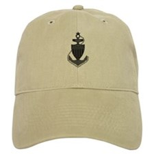 Senior Chief<BR> Khaki Baseball Cap