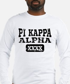 Pi Kappa Alpha Athletic Person Long Sleeve T-Shirt