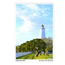 Ocracoke Lighthouse. Postcards (Package of 8)