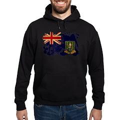 British Virgin Islands Flag Hoodie