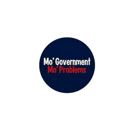 Less Government Mini Button