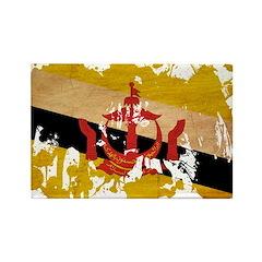 Brunei Flag Rectangle Magnet (100 pack)