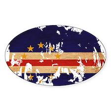 Cape Verde Flag Decal