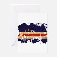Cape Verde Flag Greeting Card