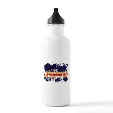 Cape Verde Flag Water Bottle