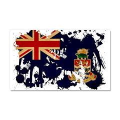 Cayman Islands Flag Car Magnet 20 x 12