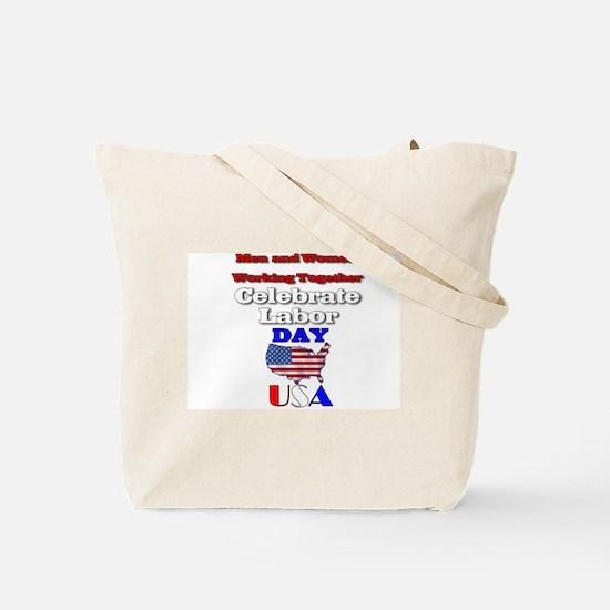 Labor Day USA.:-) Tote Bag