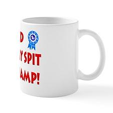 World Dummy Spit Champ Small Mug