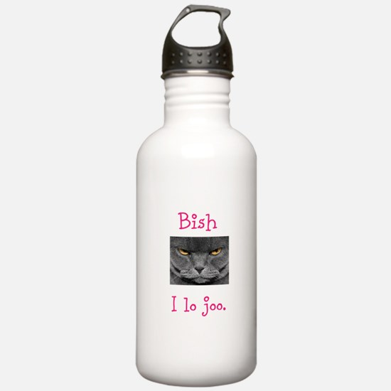 Lo Joo Disapproving Cat Water Bottle